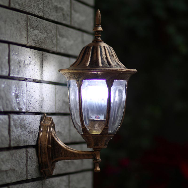 Outdoor Light Fixture Bronze