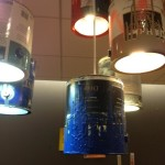 Paint Can Light Fixture