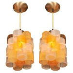 Painted Glass Light Fixtures