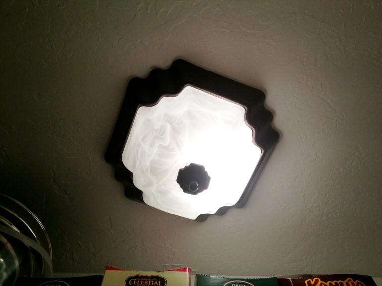 Painting a Light Fixture