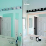 Painting Bathroom Light Fixtures