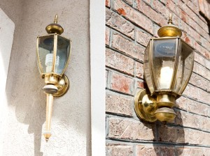 Painting Brass Light Fixture