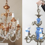 Painting Light Fixture Glass