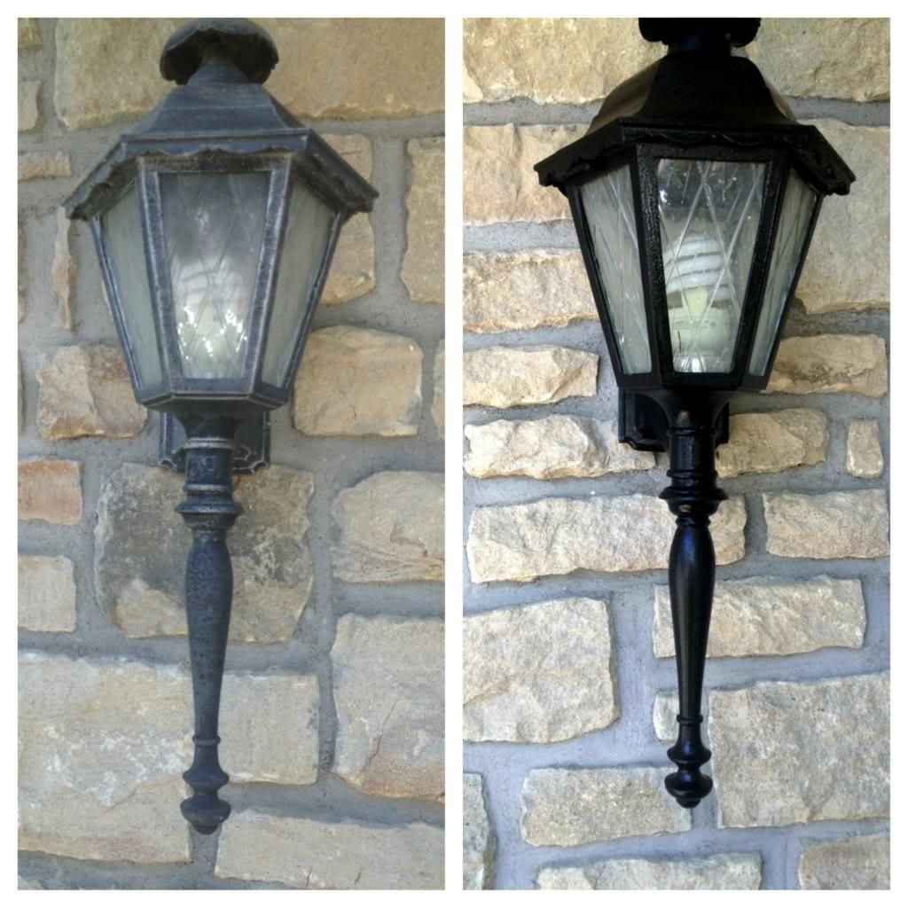 How to repaint outdoor light fixtures light fixtures paint your home with painting light fixtures workwithnaturefo