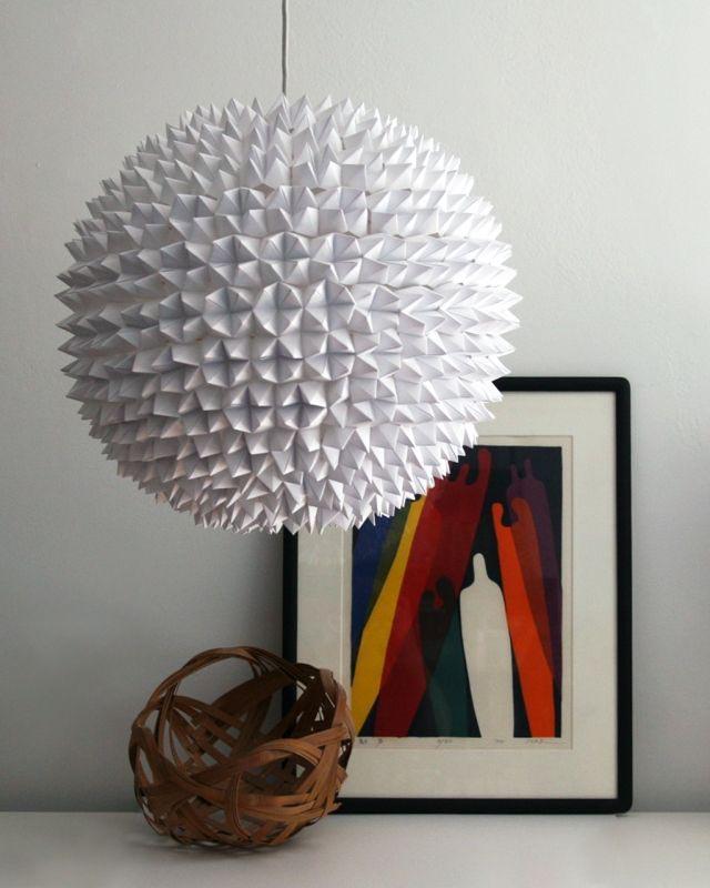 Paper Lantern Light Fixture