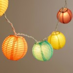 Paper Lantern Lighting Fixtures