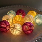 Paper Lanterns Light Fixtures