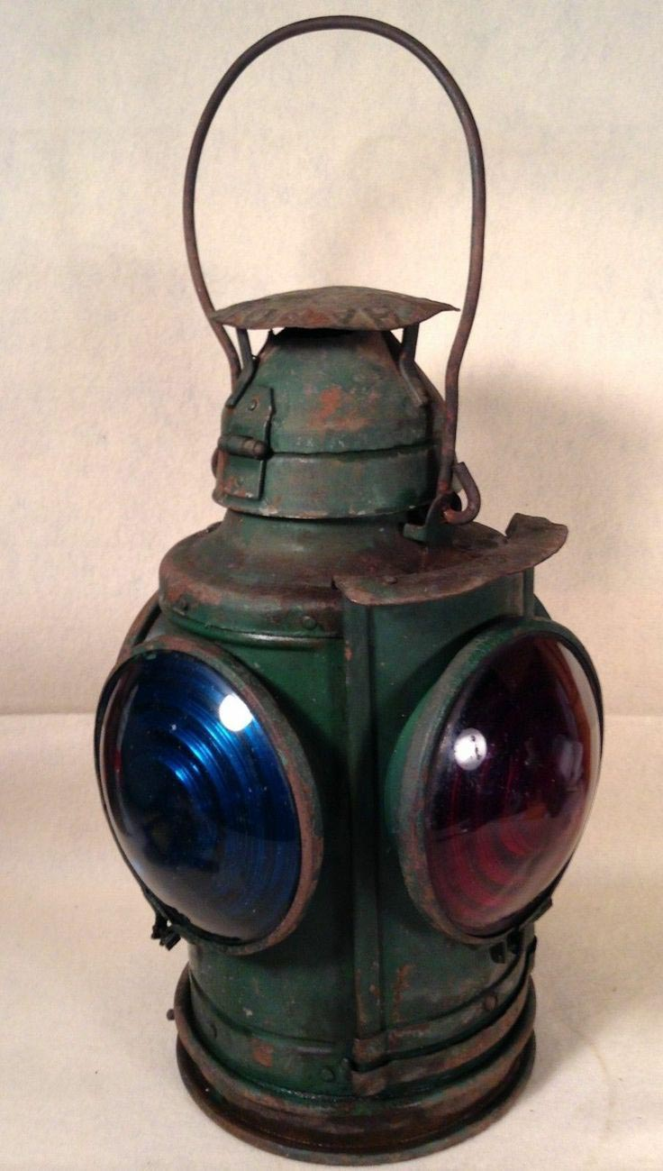 Railroad Lantern Light Fixture