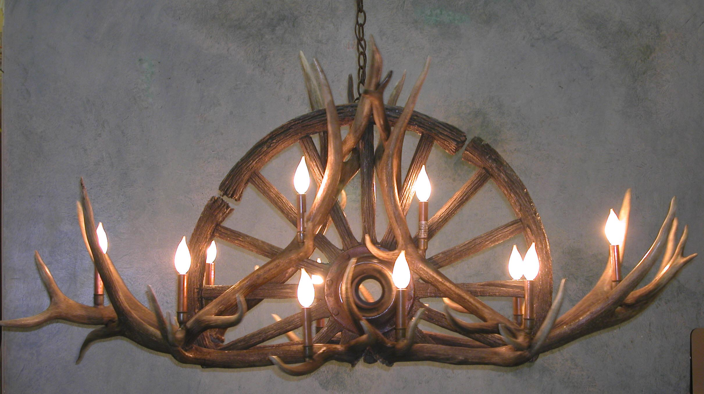 Real Antler Light Fixtures