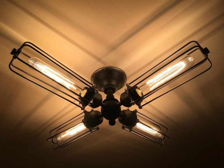 Retro Ceiling Light Fixture