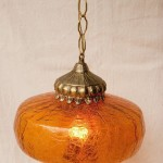 Retro Glass Light Fixture