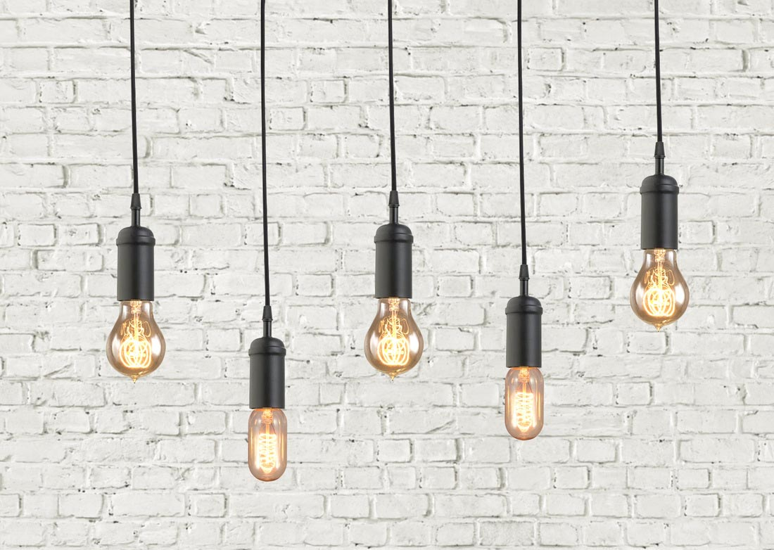 Retro Industrial Light Fixtures