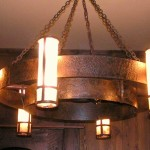Rustic Iron Light Fixtures
