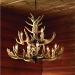 Small Antler Light Fixture