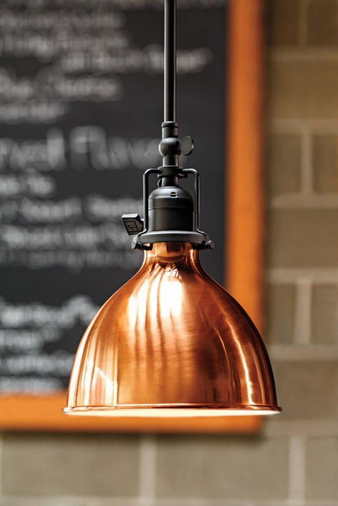 Solid Copper Light Fixtures