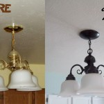 Spray Paint Light Fixtures