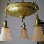 Vintage Brass Light Fixtures