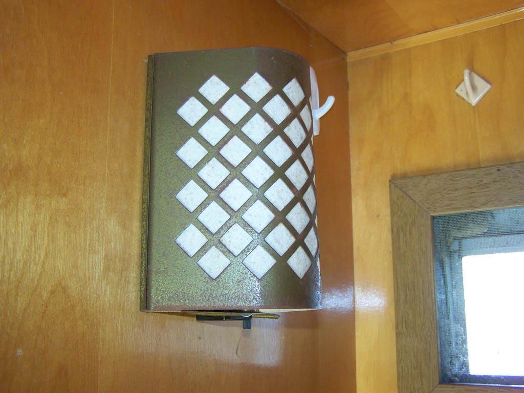 Vintage Camper Light Fixtures