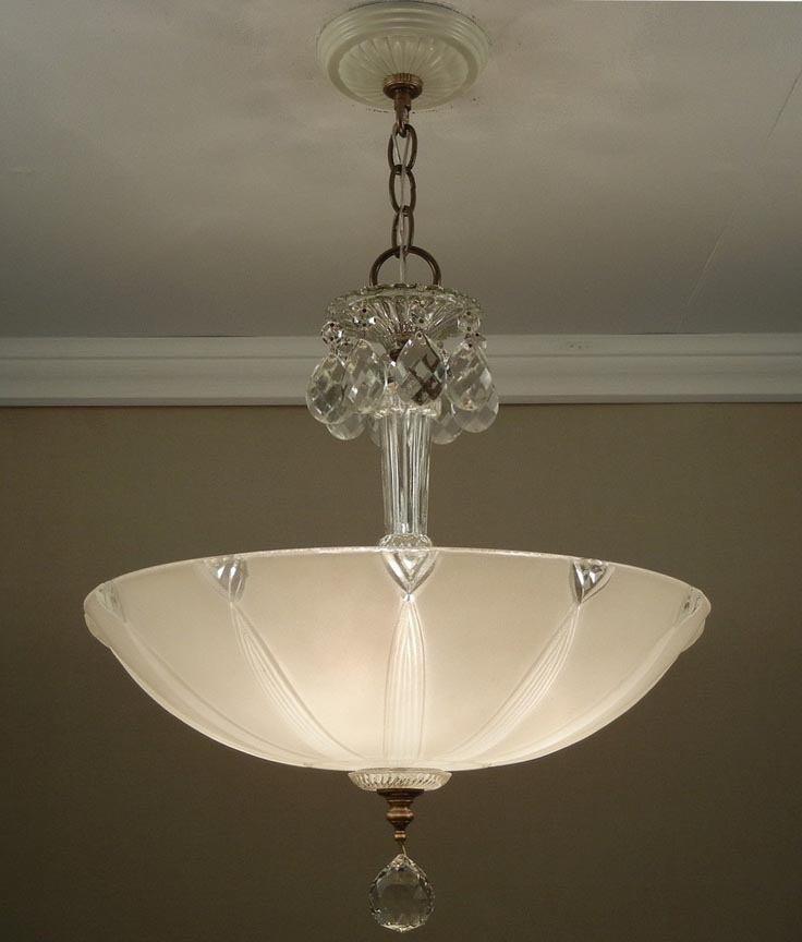 Vintage Ceiling Light Fixture