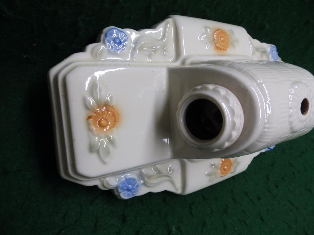 Vintage Ceramic Light Fixture