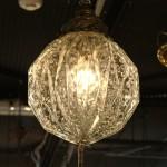Vintage Light Fixture Globes
