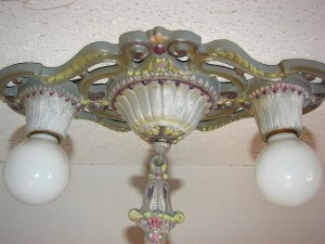 Vintage Metal Light Fixtures