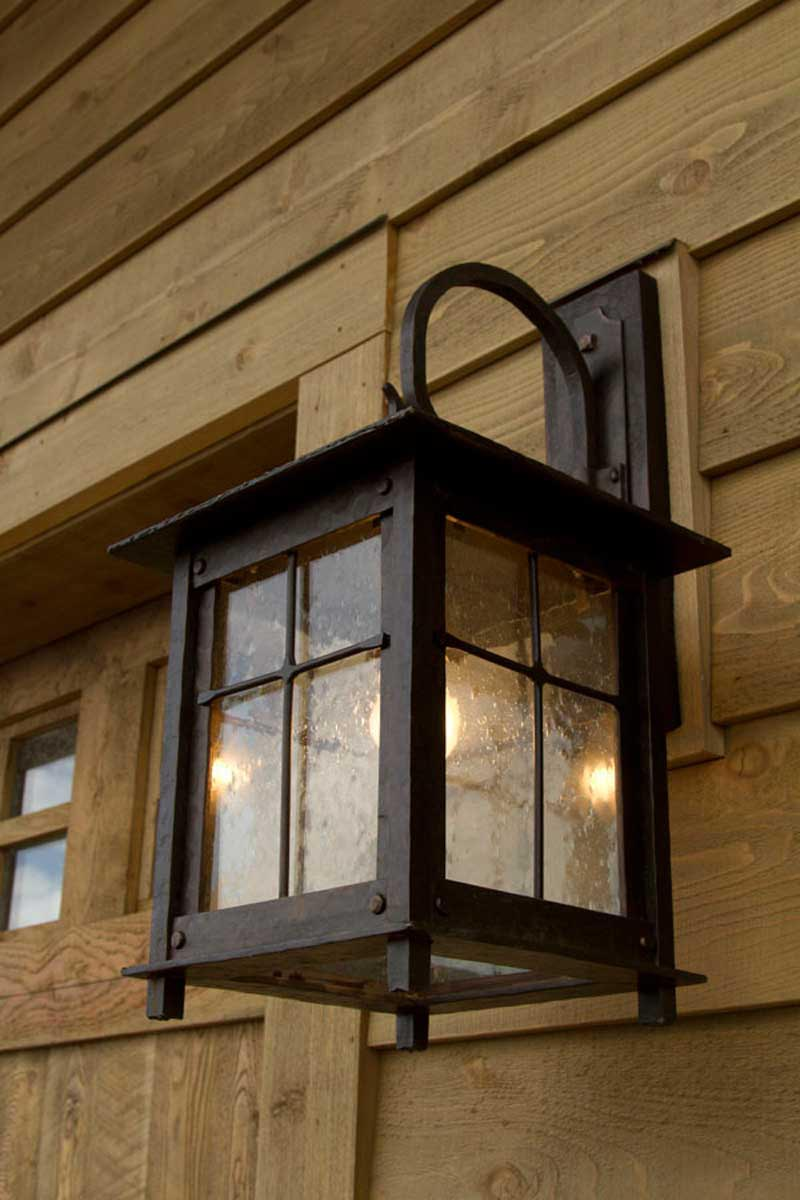 Western Iron Light Fixtures