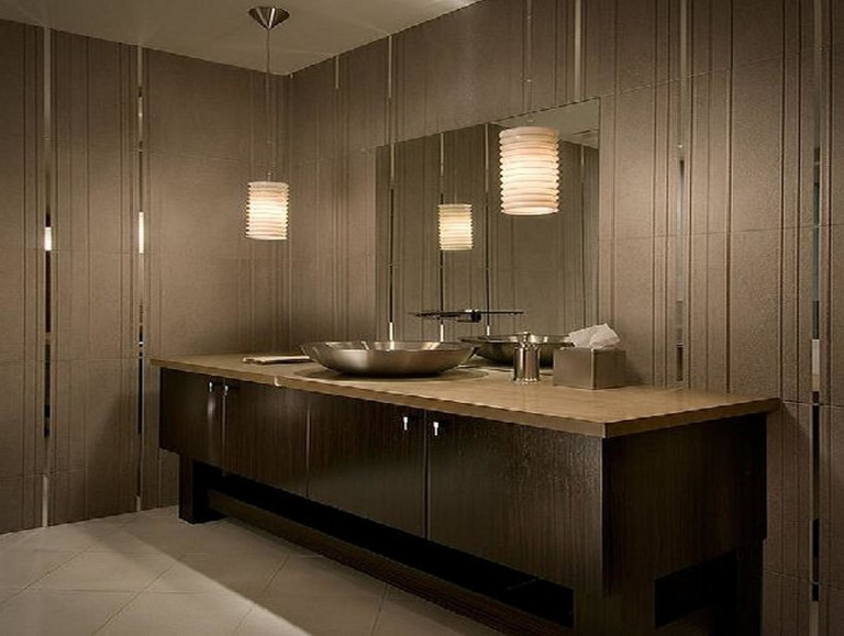 Wooden Bathroom Lighting Fixtures