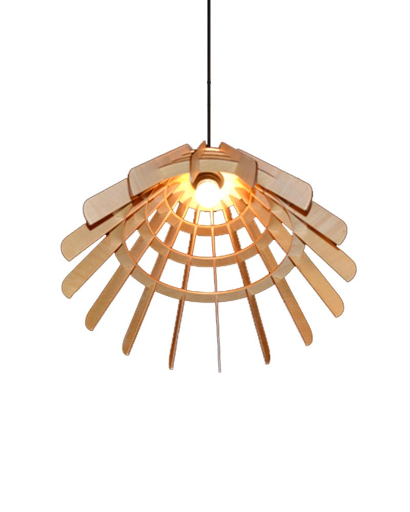 Wooden Hanging Light Fixtures