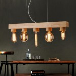 Wooden Pendant Light Fixtures