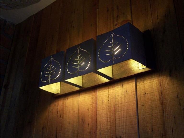 Wooden Wall Light Fixtures