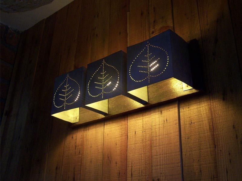 Wooden Wall Light Fixtures