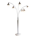 5 Arm Arch Floor Lamps
