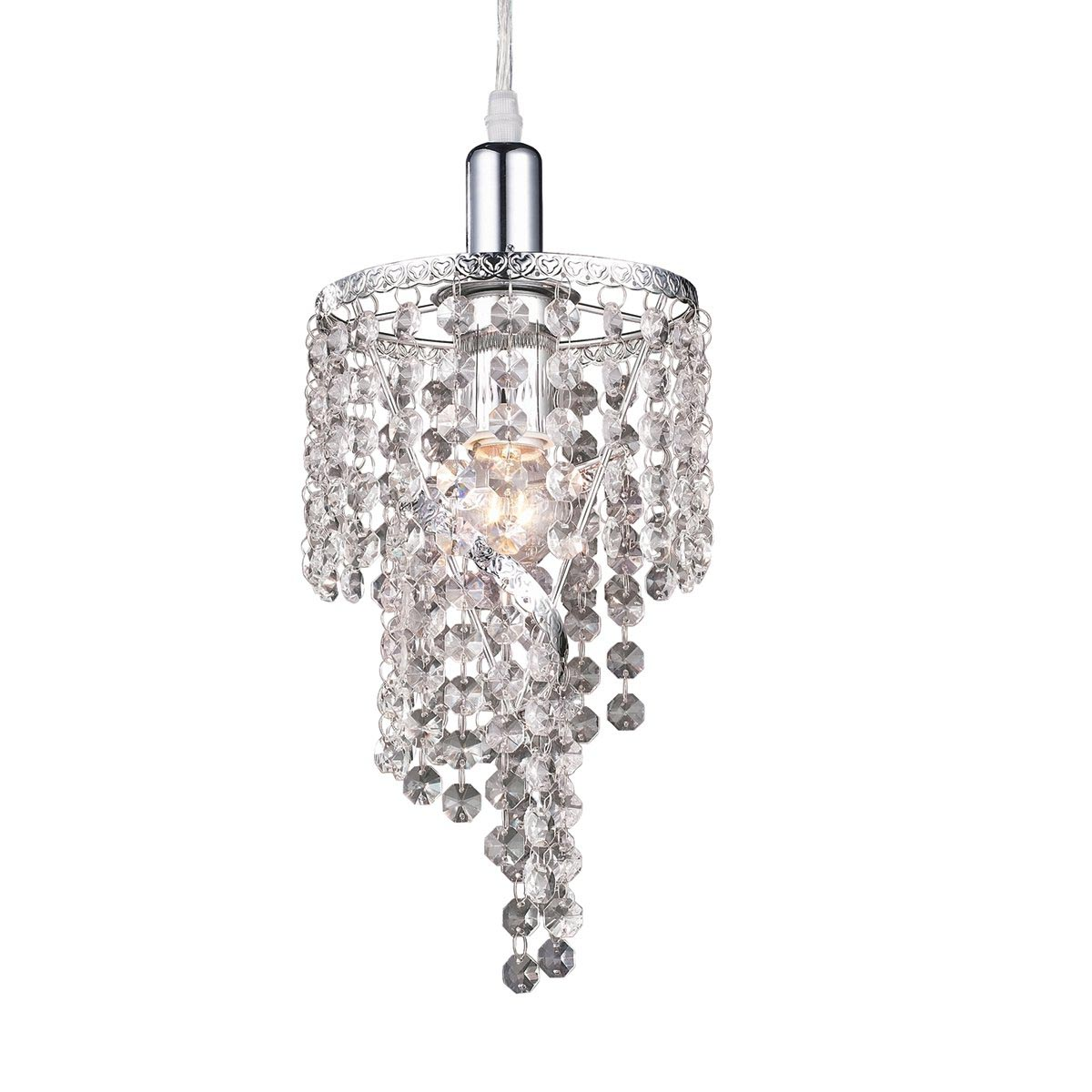 Black Crystal Mini Chandelier