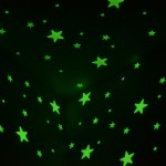 Black Light Ceiling Stars