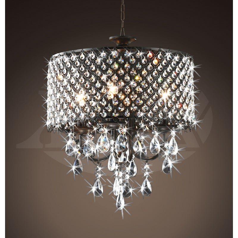 Brass And Crystal Chandelier Antique | Light Fixtures Design Ideas