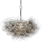 Bubble Chandelier Clear Glass Bubbles
