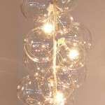 Bubble Glass Chandelier by Solaria
