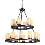 Candle Chandeliers from the Pillar Collection