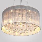 Ceiling Drum Light Fixture