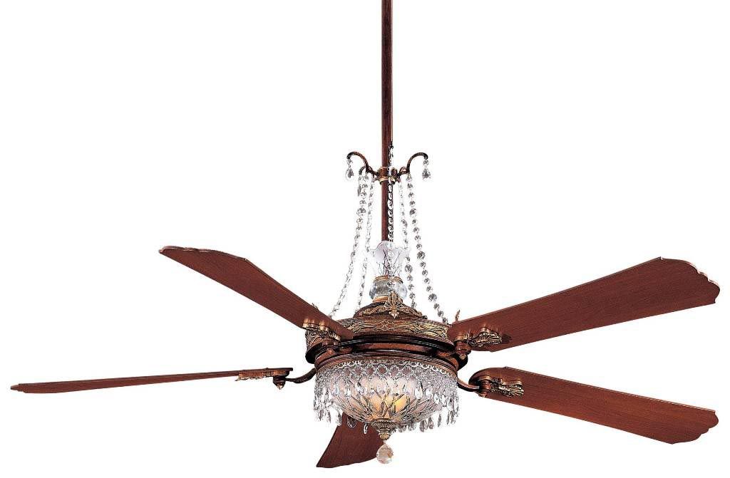 Ceiling Fan Crystal Chandelier