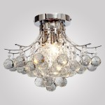 Ceiling Fan with Chandelier