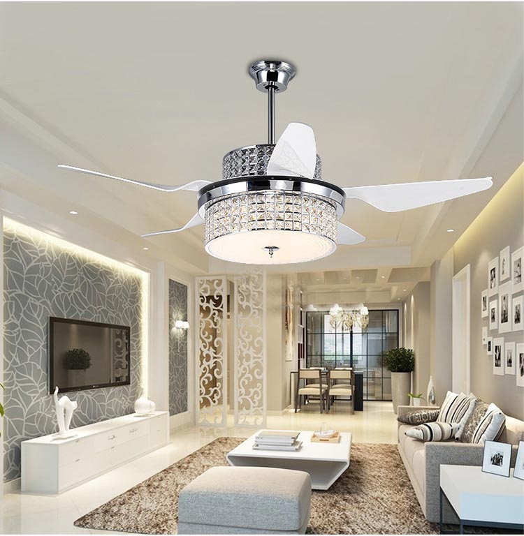Ceiling Fans with Chandelier