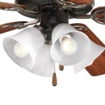 Chandelier Attachment for Ceiling Fan