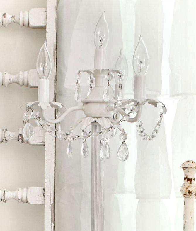 Chandelier floor lamp diy light fixtures design ideas for Diy floor lamp ideas