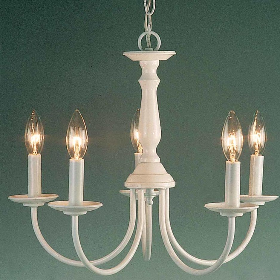 Chandelier That Looks Like Pillar Candles