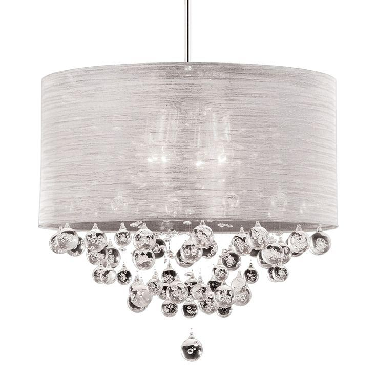 Chandelier with Glass Bubbles