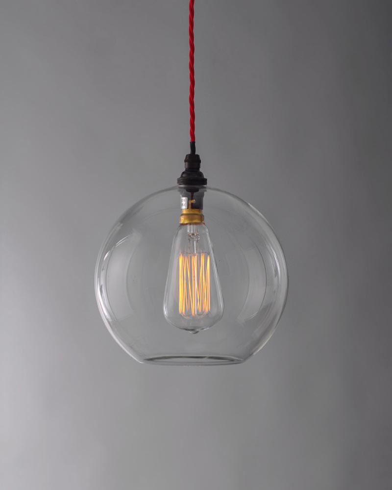 Clear Glass Globes for Chandeliers