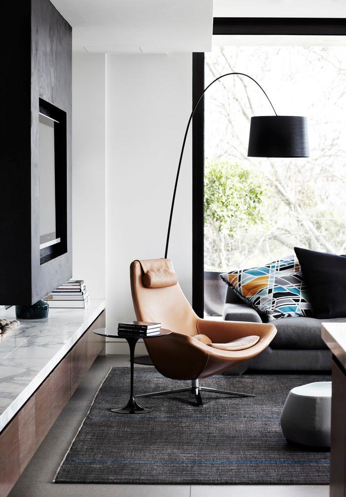 Contemporary Arched Floor Lamps