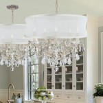 Crystal Drum Shade Chandelier